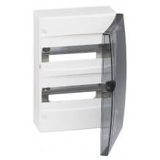 Porte coffret Ekinoxe - pour coffret 2 rangées - IP 40 - transparente