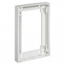 Rehausse ép 15 mm - pour coffret Ekinoxe 2 x 13 modules - blanc RAL 9010