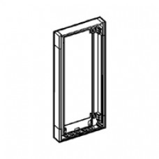 Rehausse ép 50 mm - pour coffret Ekinoxe 2x13 modules avec platine - blanc RAL 9010