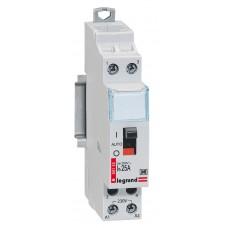 Contacteur domestique silencieux - 230 V~ Lexic - 2P - 250 V~ - 25 A - O+F