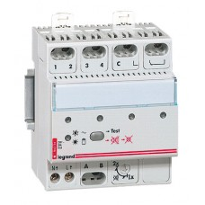 Centrale 4 directions - alarme technique Lexic - avec buzzer 65 dB
