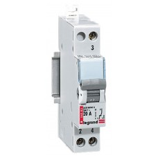 Interrupteur inverseur Lexic - va-et-vient - 250 V~ - 20 A - 1 mod