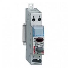 Poussoir, interrupteur poussoir Lexic - dble fonct - 20 A - 250 V~ - 1 NF+voyant rouge