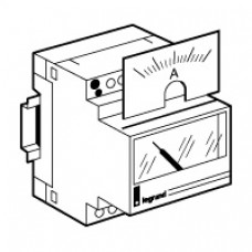 Cadran de mesure analogique pour ampèremètre 046 00 - 0-50 A