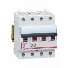 Disjoncteur magnéto-therm DX 6000 - Lexic à vis - 4P - 400 V~ - 25 A - courbe C Legrand