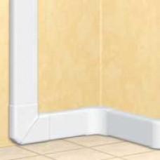 Goulotte 35x105 DLP monobloc - 1 couv 85 mm - L. 2 m - blanc
