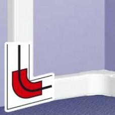 Accessoire VDI pour angle plat - toute DLP (sauf 35x80 et couv 40) - blanc