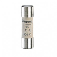 Cartouche industrielle cylindrique - gG - 14x51 mm - sans percuteur - 2 A