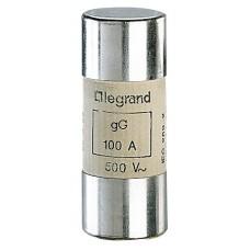 Cartouche industrielle cylindrique - gG - 22x58 mm - sans percuteur - 100 A