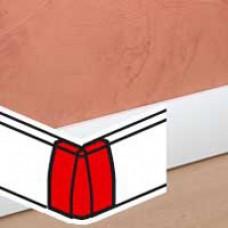 Angle extérieur - pour moulure Céliane finition plâtre 50x18 mm