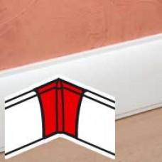 Angle intérieur - pour plinthe Céliane finition plâtre 82,5x12,5 mm