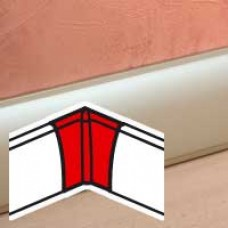 Angle intérieur - pour plinthe Céliane finition titane 82,5x12,5 mm