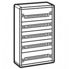 Coffret distribution métal XL3 160 - tout modulaire - 5 rangées - 900x575x147