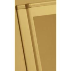 Porte galbée métal XL3 160/400 - pour coffret et armoire H 600 mm
