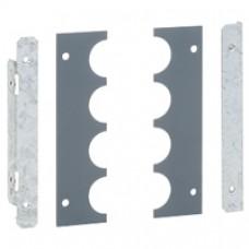 Cloison latérale à embouts pour unités fonctionnelles XL3 4000 - H. 300 mm
