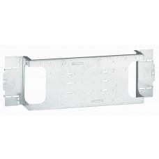 Platine  XL³ 800/4000 - pour 1 DPX³ 250 - horizontal - 24 mod