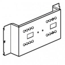 Platine XL3 800/4000 - 2 DPX 160 inverseur source - vert - 24 mod