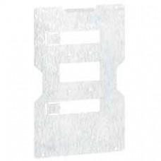 Platine de montage DPX 630 extract/débro - pour dispositif réglable réf. 207 21