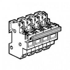 Coupe-circuit sectionnable - SP 51 - 3P+N équipé - cartouche ind 14x51