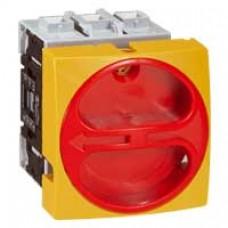 Interrupteur sectionneur rotatif complet - encastré cadenassable - 3P - 32 A