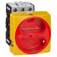 Interrupteur sectionneur rotatif complet - encastré cadenassable Ø22 - 3P - 32 A