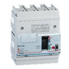 Disjoncteur puissance DPX 125 - magnéto-thermique - 25 kA - 4P - 125 A Legrand