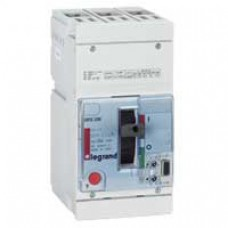 Disjoncteur puissance DPX-H 250 - électronique S2 - 70 kA - 3P - 250 A Legrand