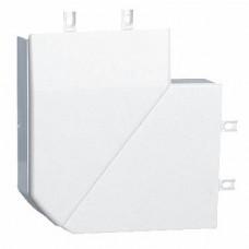 Angle plat variable - pour moulure DLPlus 75x20 - blanc
