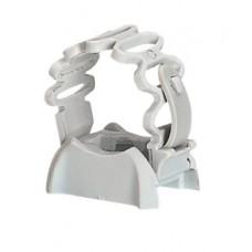 Clipsotube extensible pour tube IRL Ø16 et 20 - gris RAL 4035