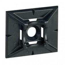 Embase adhésive Colring - pour collier l 4,6 - noire