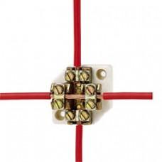 Plot de dérivation - passage du câble sans coupure - pour câble 240 mm²