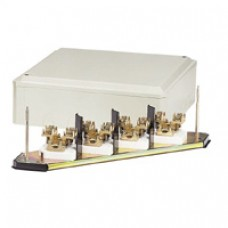 Grille dérivation - IP 30 - IK 07 - 4P - câble section 70 mm² - beige RAL 7033