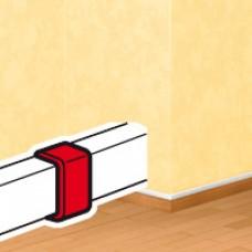 Joint de couvercle - pour moulure DLPlus 32x12,5 - blanc