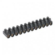 Barrette de connexion Suprem - multibrins anti-cisaillante - cap 4 mm² - noir