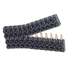 Barrette de connexion Suprem - à broche - cap 6 mm² - noir