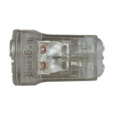 Borne connexion sans vis Nylbloc auto pour 2 fils - 24 A - 450 V~ - gris