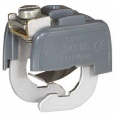 Connecteur de liaison équipotentielle -  Ø mini 18 mm - Ø maxi 22 mm