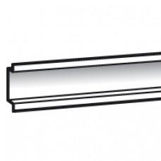 Rail symétrique Lina 25 - pour Atlantic/Inox/Marina larg. 300 - L. 243 mm