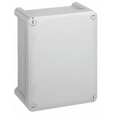 Boîtier industriel plastique - IP66 IK08 - RAL 7035 - 155x110x74 - couv opaque
