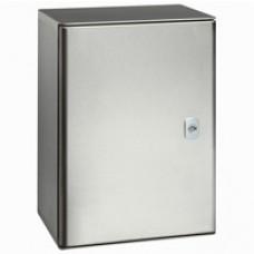 Coffret Atlantic inox 304L - IP66 IK10 - 1000x800x300 mm - vertical 1 porte