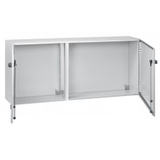 Coffret métal Atlantic associable - IP55 IK10 - RAL 7035 - 600x800x300 - horiz
