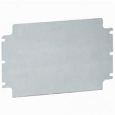 Plaque pleine acier - pour boîtier industriel Atlantic IP 66 400x400 mm