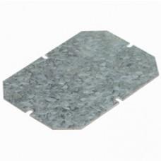 Plaque de montage métal - ép 15/10 - pour boîtiers indus 220x170