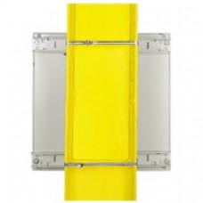 Kit de fixation sur poteau - pour coffret Atlantic/Inox/Marina larg. 600