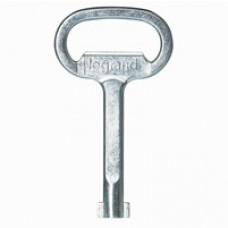 Clé métal pour empreintes - triangle mâle de 9 ou 11 mm (EDF)