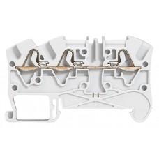 Bloc jonc Viking 3 à ressort - 1 jonc/3 conduct - 1entr/2 sort - gris - pas 5