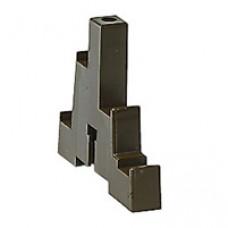 Support isolant (2) 4P - 1 barre par pôle jusqu'à 280 A - barre 25x4 mm