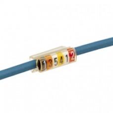 Porte-repères Mémocab - pour filerie - L. repérage 15 mm - section mini 4 mm²