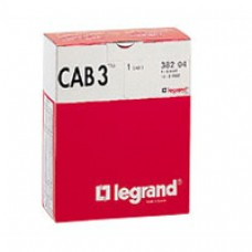 Lot de repères CAB 3 - chiffres pour câbles section 4 à 6 mm²