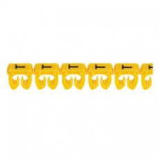 Repère CAB 3 pour filerie 1,5 à 2,5 mm² - lettre majuscule K